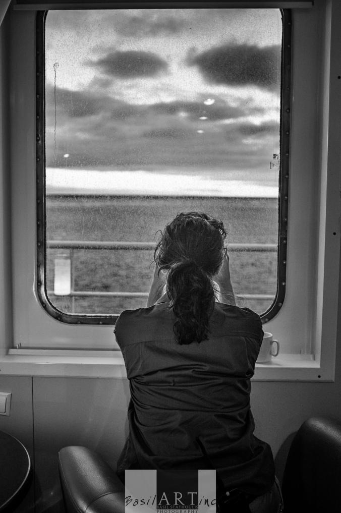 Christina Cruz whalewatching
