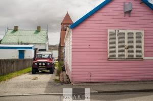 Pink Landrovers