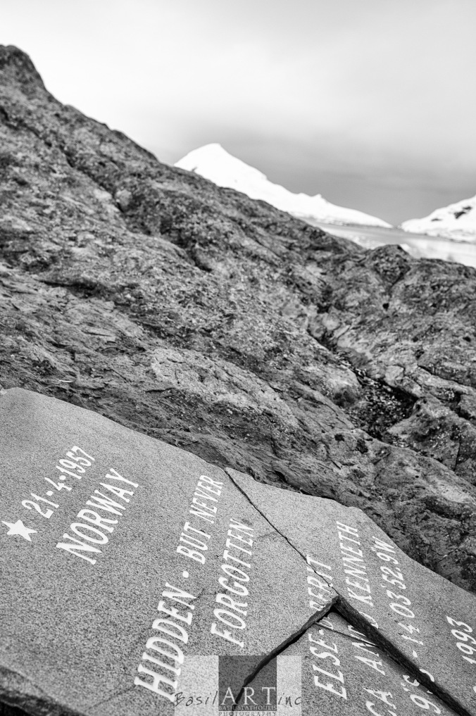 Norwegian grave stone: hidden but not forgotten….